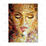 Canvas Painting Wall art colorful figures for living room