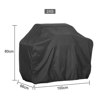 Black Waterproof BBQ Cover