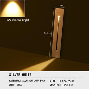 Outdoor waterproof 3W LED underground lamp