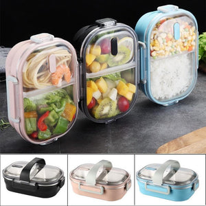 Portable Lunch Box with Strap