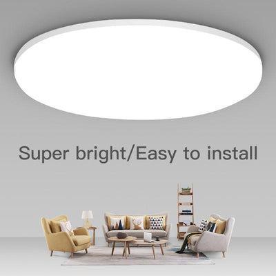 Surface Mounted Ultra Thin LED Ceiling Lighting Fixture