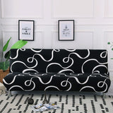 160-190cm Elastic Washable Armless Sofa Bed Cover For Banquet Home