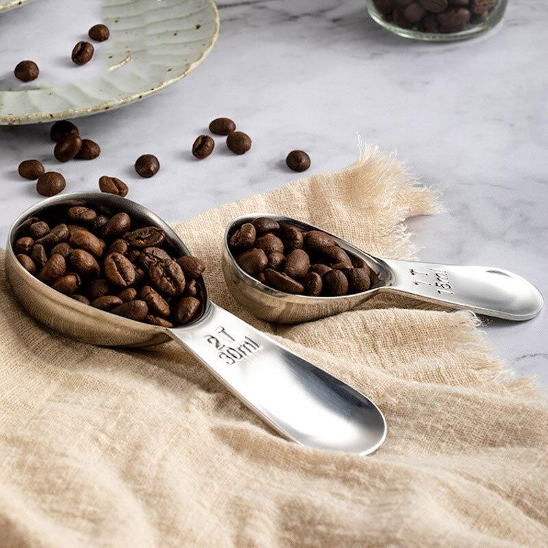 304 Stainless Steel Measuring Spoons Baking Tool