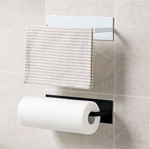 Under Cabinet Paper Roll Rack Towel