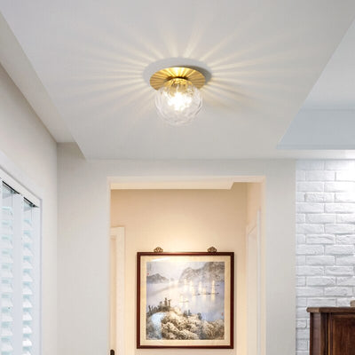 Nordic door porch led ceiling light
