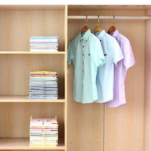 Multifunctional Durable Plastic Laundry Storage Fold Board Unique Clothing Shelves