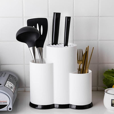 Multifunction Kitchen Utensil Spoon Storage Rack