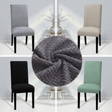 Polar Fleece Fabric Super Soft Chair Cover