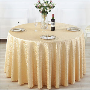 Banquet Wedding Rectangle And Square And Round Tablecloth