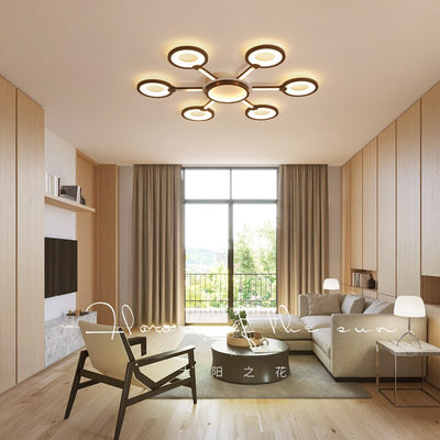 Modern LED Surface Mount Nordic Style Ceiling Lamp