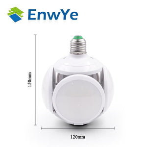 Super bright LED folding bulb E27 40W