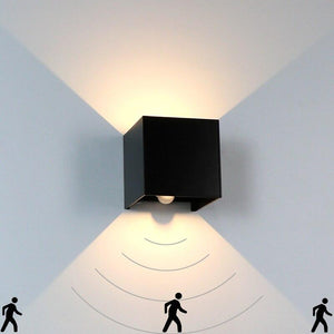 Waterproof Human Sensor Outdoor & Indoor Wall Lamp