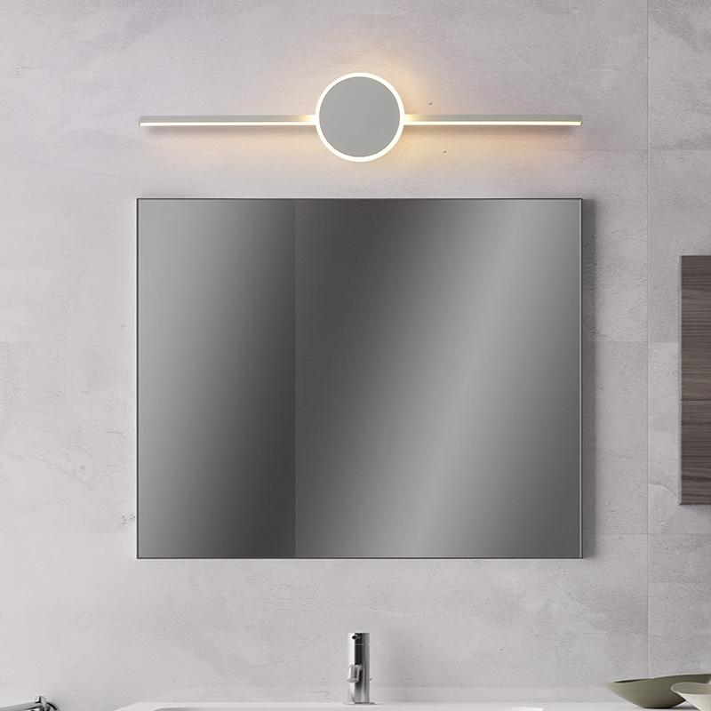 Black/White Modern LED Mirror Lights