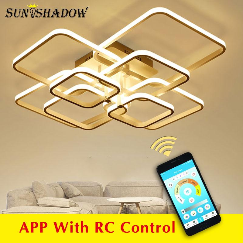 Modern LED Ceiling Light with remote control