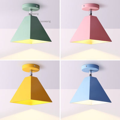 Nordic Macaron LED Ceiling Light Fixture