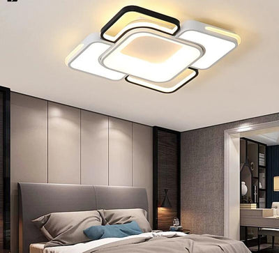 Rectangle & Square Modern Led Chandelier