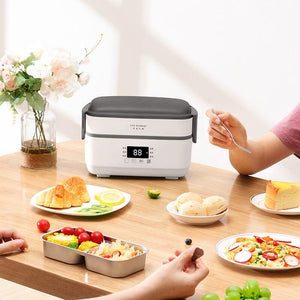Double-layer Electric Lunch Box