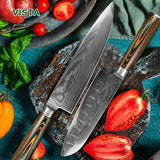 Damascus  Layer Japanese Chef  Kitchen Knife