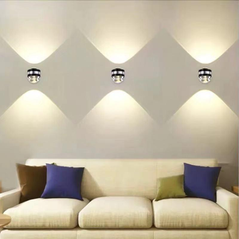 Modern up and down LED Walllamp