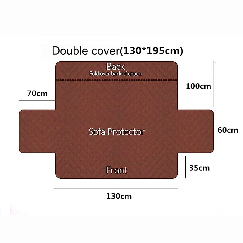 Dog cat Pets Single/Two/Three Sofa Protector Cover