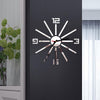 3 diy acrylic Quartz mirror Watch stickers Living Room