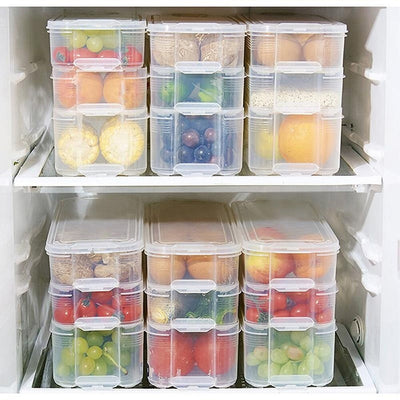 Fridge Cabinet Freezer Storage Box Organizer