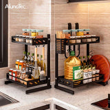 3 Tier Standing Type Shelf Utensils Storage