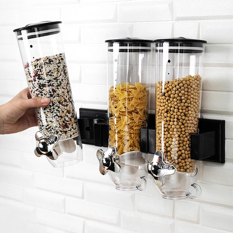 New Kitchen Sealed Cereal Dry Food Storage Cans