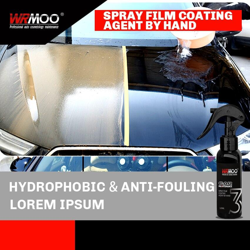 120ml 9H  Super Hydrophobic Liquid Set Nano Ceramic Car Paint Care