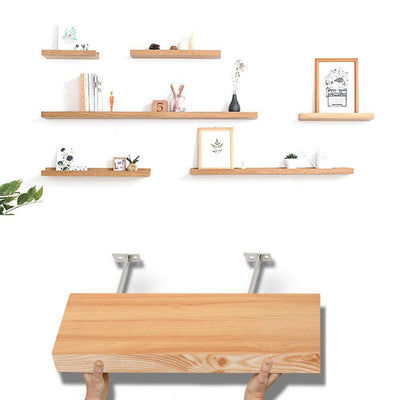 6 x Invisible Shelf Brackets