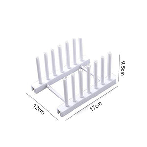 1 PC Kitchen Organizer Pot Lid Rack