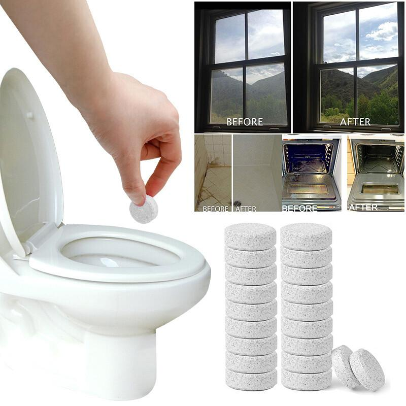Concentrate Home Cleaning toilet