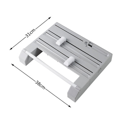 1PC Wall Mounted Paper Towel Rack
