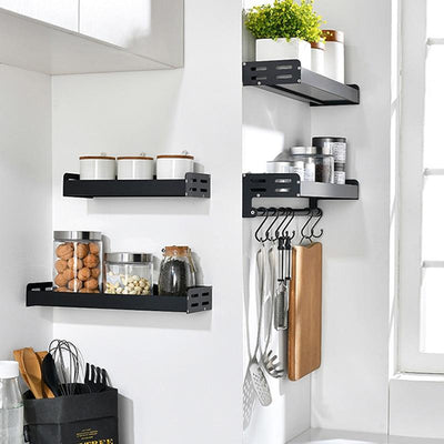 Wall-Mount Spice Racks