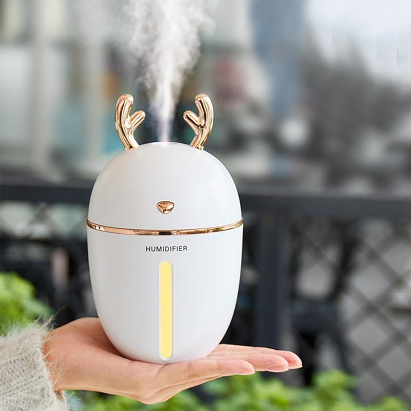 450ML USB Aroma Essential Oil Diffuser With Night Lamp
