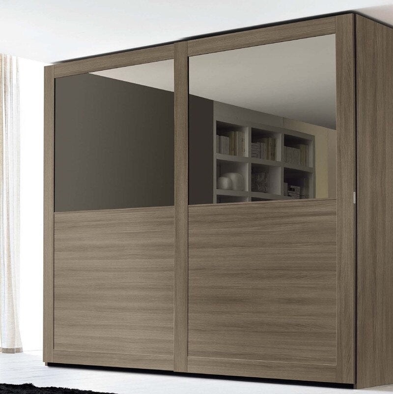 Sliding  mirror door wardrobes cabinet