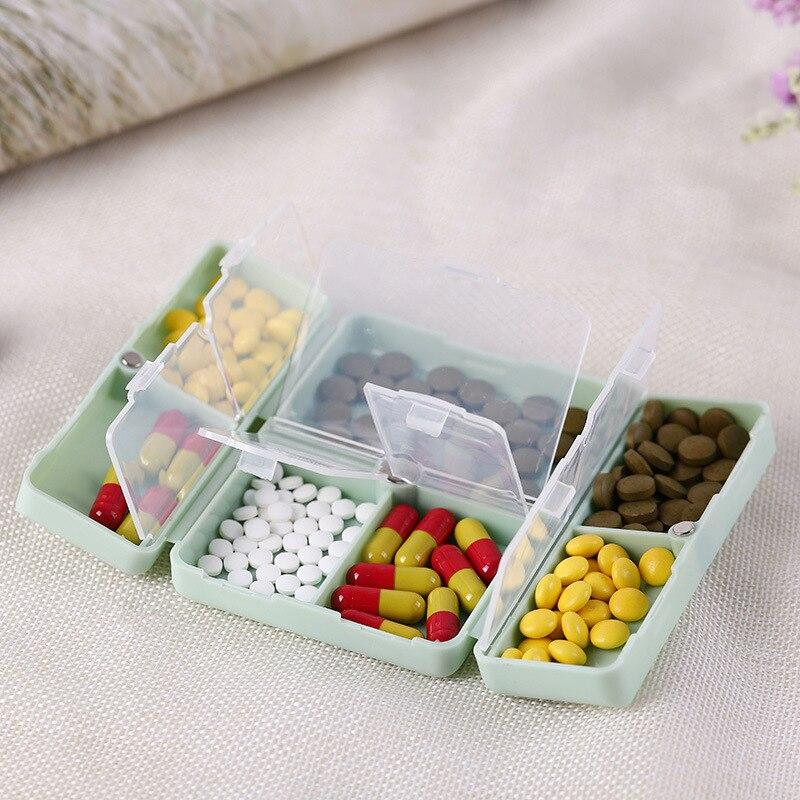 Plastic Pill Box Organizer For 7 Days