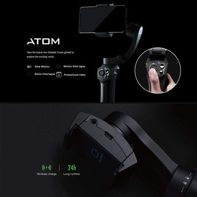 3-Axis Handheld Gimbal Stabilizer for iPhone Samsung