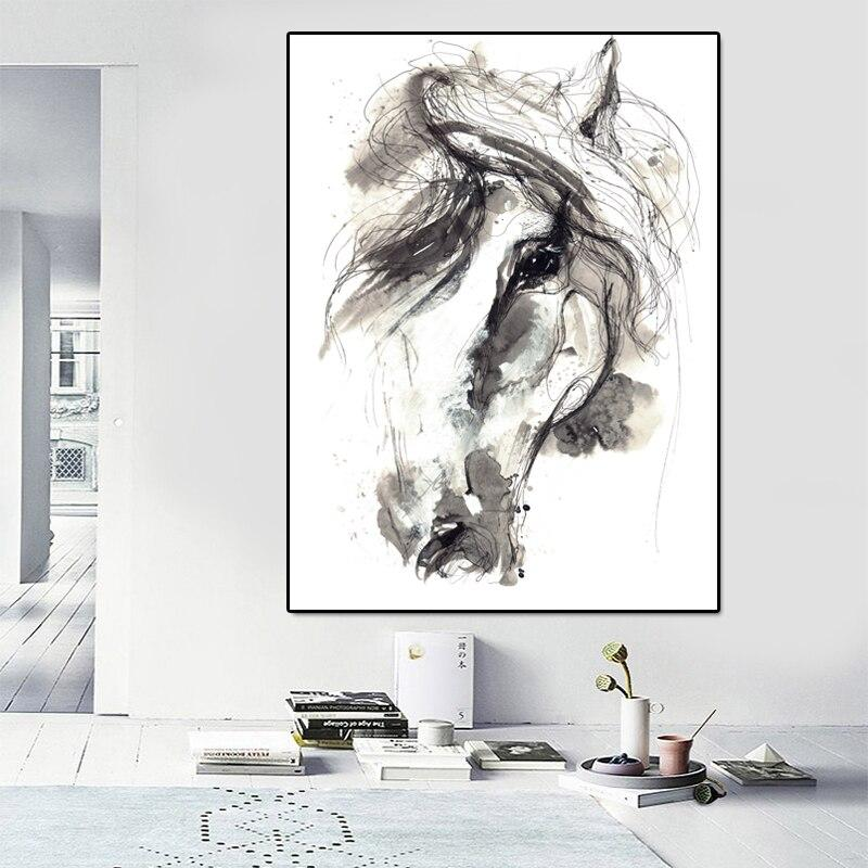 Abstract Hors Canvas Art Print On The Wall