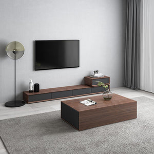 TV Stand unit modern Living Room + coffee centro table