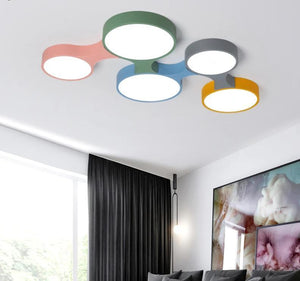 Nordic led Colorful Ceiling Lights