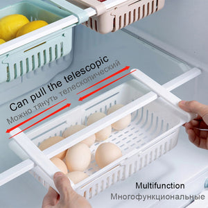 Drawer type refrigerator partition frame