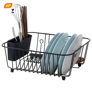 Kitchen Sink Holder Tray for Plates Bowl Cup