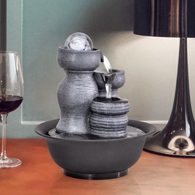 FengShui Resin Decorative  Indoor Water Fountains