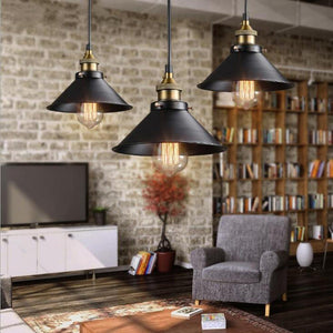 Retro Loft Industrial Edison Bulb Metal Light