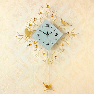 European Minimalist Creative Wall Clock