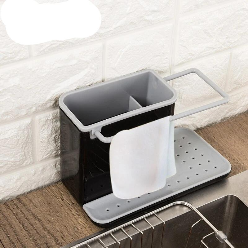 Kitchen Sink Tidy Utensils Sponge Holders