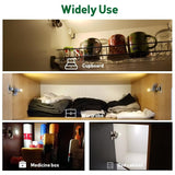 10 Pcs Universal Wardrobe Light Sensor LED