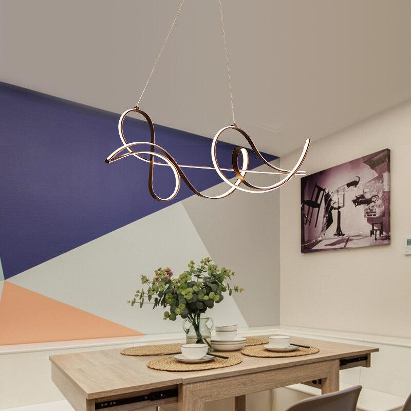 Arc Modern LED Pendant Lights