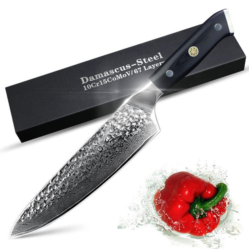 Ultra Sharp Damascus Japanese Chef Knife
